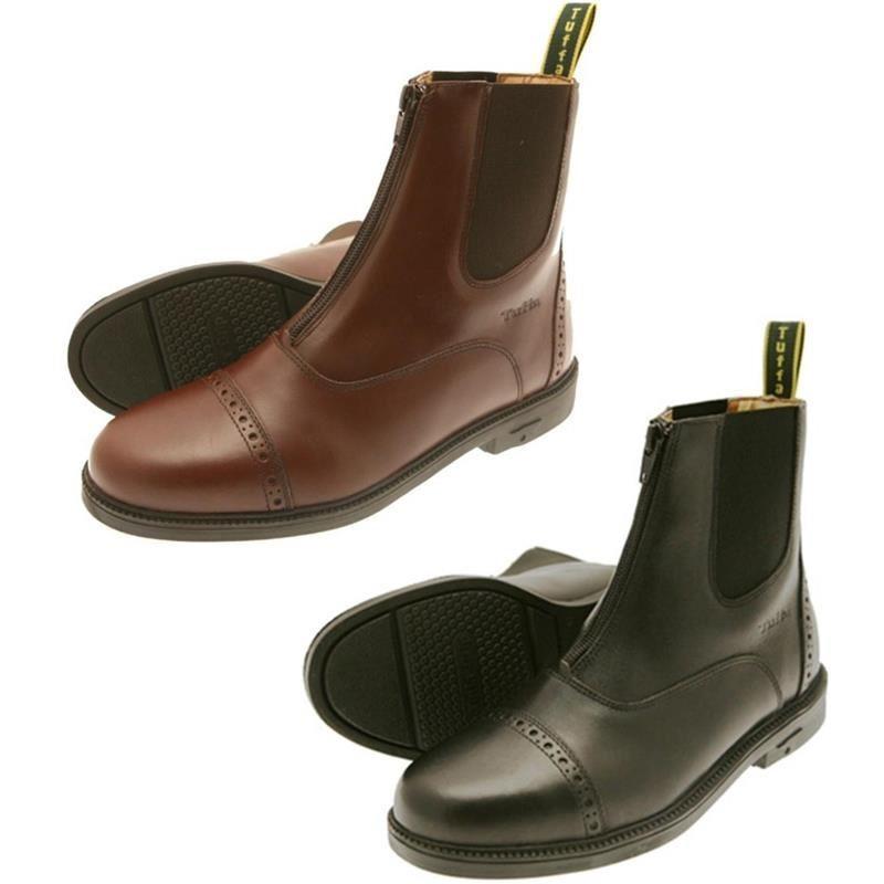 Tuffa Morgan Jodhpur Boots - For Horse Riding -3   36 - BLACK - BN