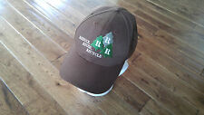 REDUCE REUSE RECYCLE RRR ON TREES BROWN BASEBALL CAP HAT  ADJUSTABLE