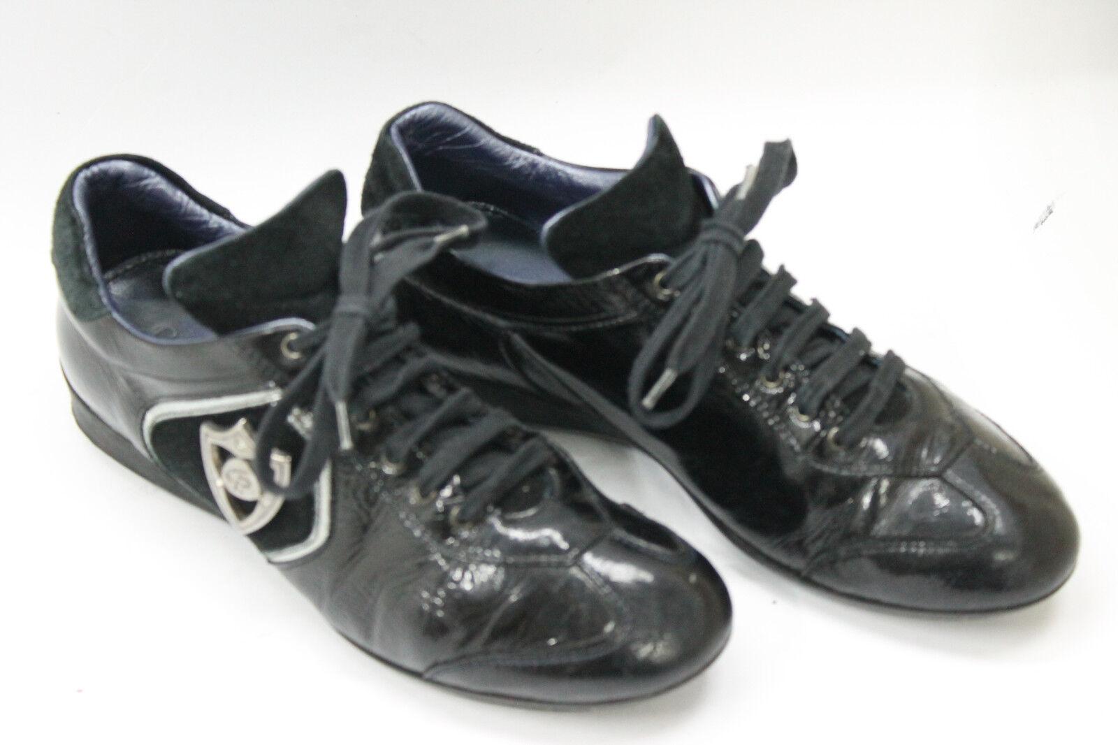 CESARE PACIOTTI women shoes sz 6.5 Europe 37 black  leather S6908
