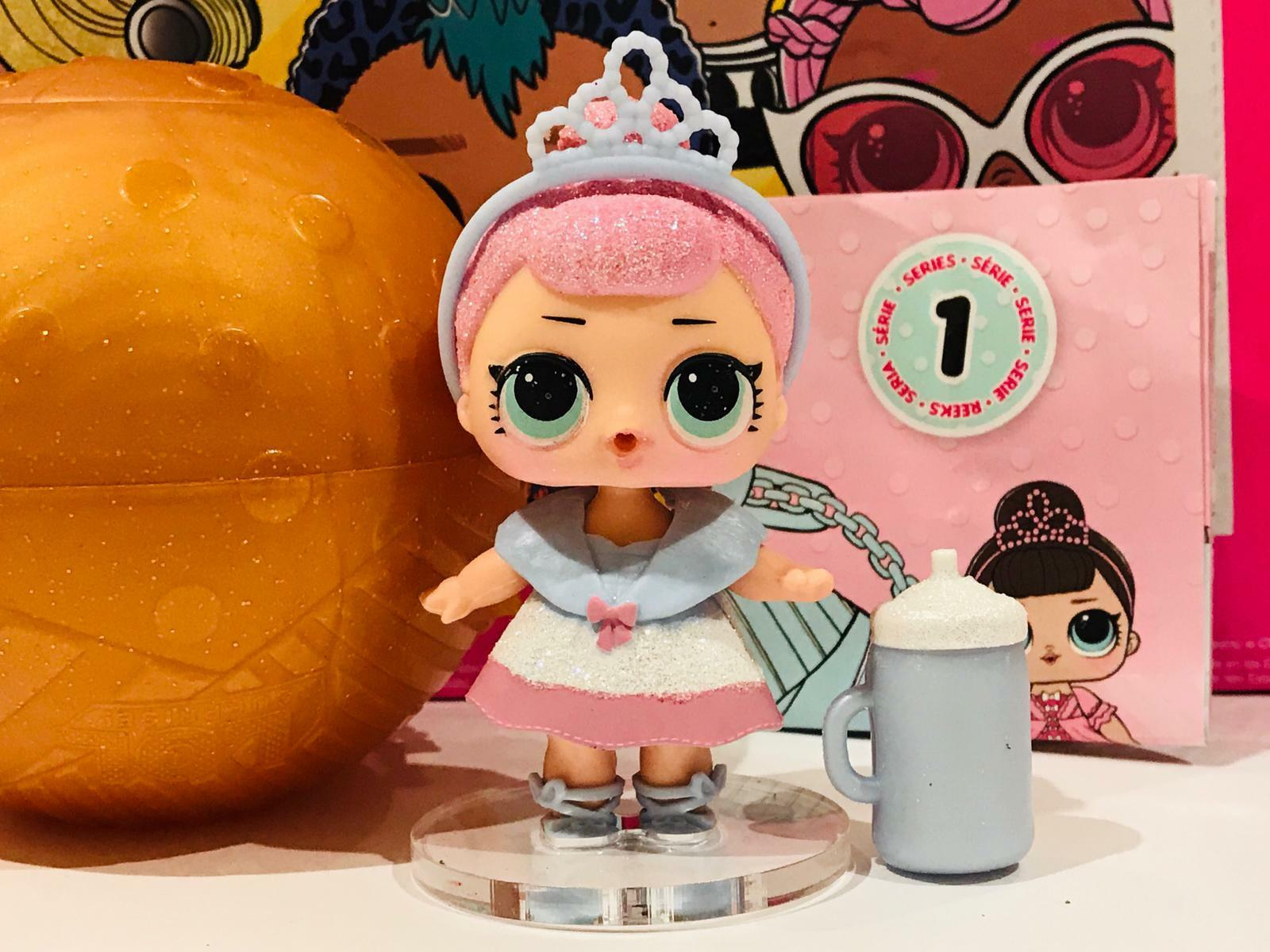 LOL Surprise CRYSTAL QUEEN SERIE 1 BAMBOLA GOLD ORO MGA ENTERTAINMENT L.O.L DOLL