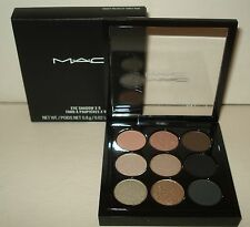 MAC Smoky Metallic Times Nine Eyeshadow Palette X 9 Smokey Eye Shadow NIB