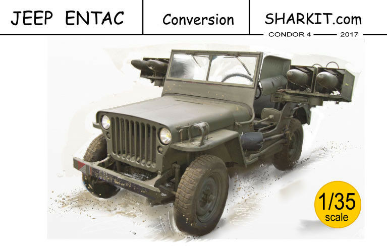 Jeep ENTAC missiles, 1 1 1 35. Resin conversion. 9b6020