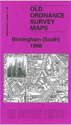 OLD ORDNANCE SURVEY MAP LONGBRIDGE 1937 BRISTOL ROAD SOUTH REDNAL BIRMINGHAM