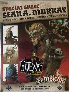 Gioco da Tavolo • ZOMBICIDE GREEN HORDE KICKSTARTER ONLY Sean Murray BOX NEW