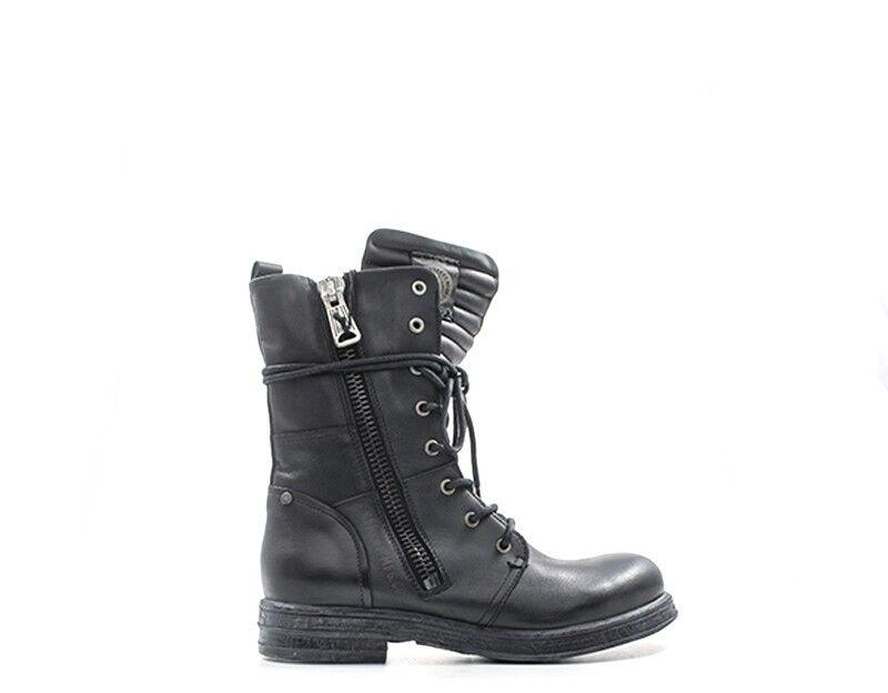 zapatos REPLAY REPLAY REPLAY mujer Anfibi  negro Pelle naturale RL260016Lnegro  Tu satisfacción es nuestro objetivo