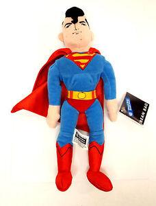 SUPERMAN-Bean-Bag-Warner-Bros-Plush-Toy-Doll