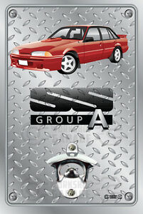 Pop-A-Top-Wall-Mount-Bottle-Opener-Metal-Sign-BROCK-HDT-VL-SS-GROUP-A-RED