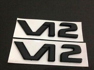 1Pair NEW Z92 Emblem Badge Chrome White