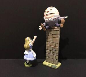 Kaiyodo-Alice-s-Adventures-in-Figureland-Tea-Party-HUMPTY-DUMPTY-amp-Alice-Figure