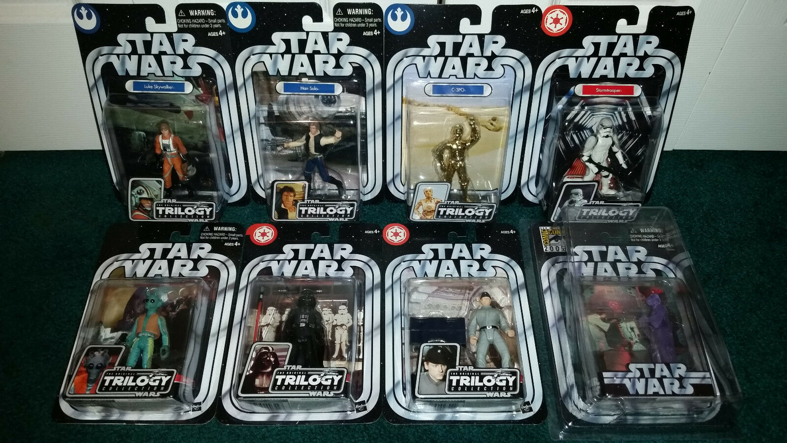 alta calidad Estrella Wars Otc A New Hope Hope Hope Luke Skywalker Han Solo C-3po Darth Vader Leia Sdcc +  Disfruta de un 50% de descuento.