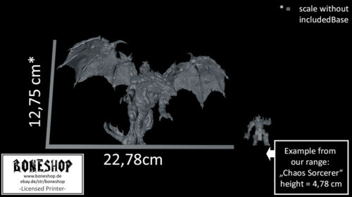 "+ Rider "" Ghamak28mm-35mmDnDRPGBoneshop BOSS Tiefling ""Dragon"