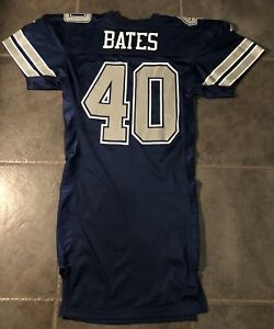 Details about Dallas Cowboys Bill Bates Vintage 1994 Game Issue Apex Jersey