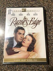The-Razors-Edge-DVD-2005-RARE-1946-ROMANCE-DRAMA-Brand-New-Sealed