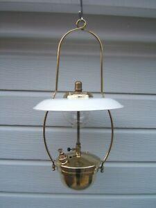 Tilley-lamp-KL80-Hendon-pump-harp-hanger-deflector-some-small-dents-KL80B