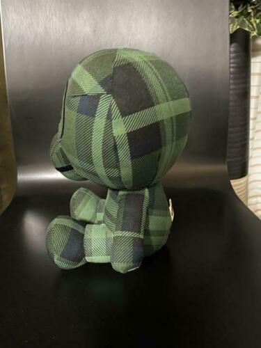 Baby MILO A BATHING APE Plush Doll stuffed Toy Collectible nicknack Rare Plaid