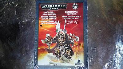 * 43-12 Cittadella Warhammer 40k Signore Del Caos Terminator-mostra Il Titolo Originale