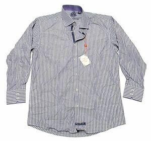 c9da2c44de NWT - ENGLISH LAUNDRY Men's 'STRIPED' Purple SPORT DRESS SHIRT - 16 ...