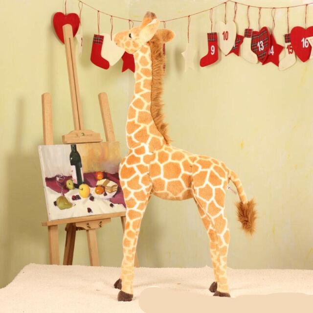 Giraffe Plush Large Stuffed Soft Doll for Kids Children Gift props decor 100cm