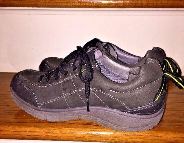 CLARKS WAVE WALK WEATHERPROOF LEATHER Loafers Oxfords Trail MENS SHOES SIZE 10