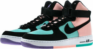 Details about Nike Air Force One 1 High Have A Nike Day Jade Coral Space Purple CI2306 300