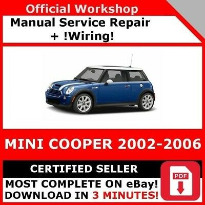 2006 mini cooper service manual