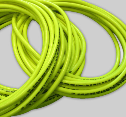 HI VIS INDUSTRIAL 20BAR COMPRESSOR AIR LINE//WATER HOSE ALL SIZES AND LENGTHS