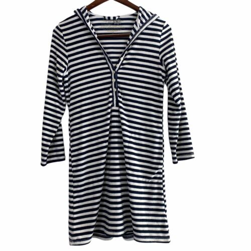 Soma Intimates Terry Cloth Dress Loungewear Hooded