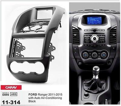 "Kuga 13+ CARAV 11-159 2Din Car Radio Dash Kit frame panel FORD C-Max 11 4.2/"""