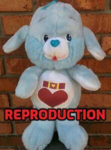 Custom-Made-LOYAL-HEART-DOG-12-034-Plush-Care-Bear-Cousin-Vintage-1984-Kenner-Parts