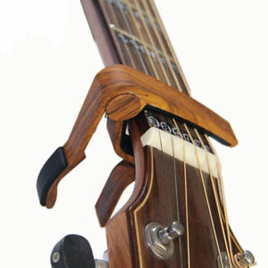 Quick-Change-Grain-Clamp-Key-Capo-Spring-For-Acoustic-Electric-Guitar-Bass