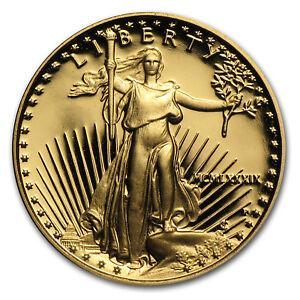 1-10-oz-Proof-Gold-American-Eagle-Random-Year-w-Box-amp-COA-SKU-59207