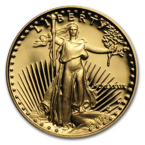 1//10 oz Proof Gold American Eagle SKU #59207 Random Year, w//Box /& COA