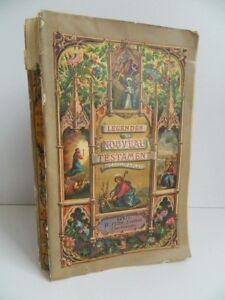 Leggende Del Nouveau Testament J.Collin Di Plancy H. Plön Parigi 1861 Frontale /