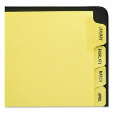 Avery Preprinted Laminated Tab Dividers Withgold Reinforced Binding Edge 12 Tab