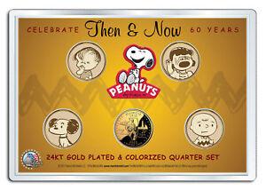 DONALD TRUMP Ultimate 15-Coin Colorized 24K Gold Washington DC Quarter Set w//BOX