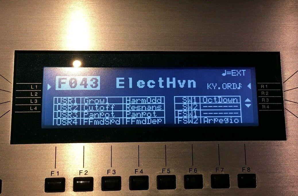 Kawai K5   K5M   K5000   K5000S   K5000W   K5000R Graphic LED Display