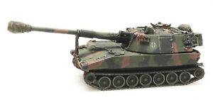 Artitec 6870098 BRD M109 A3G Eisenbahntrans<wbr/>port Camo H0 1:87 Fertigmodell Panzer