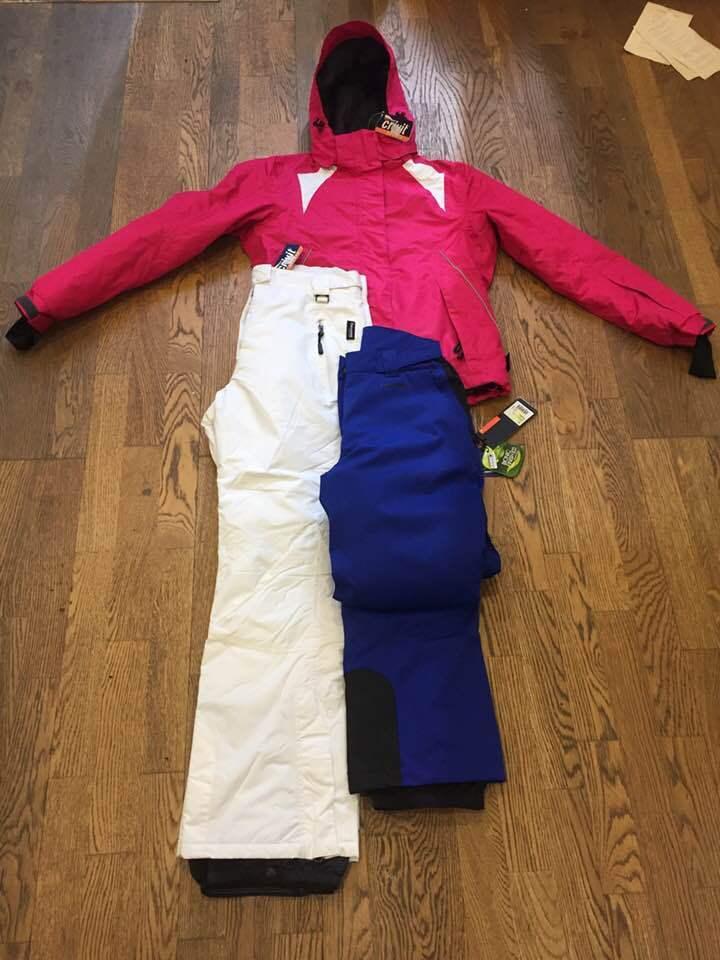 Head pantalone tg.S,giacca crivit tg.40,pantalone crivit tg.42 nuovi