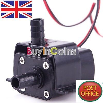 Hot Ultra-quiet Mini DC 12V 3M 240L/H Brushless Motor Submersible Water Pump