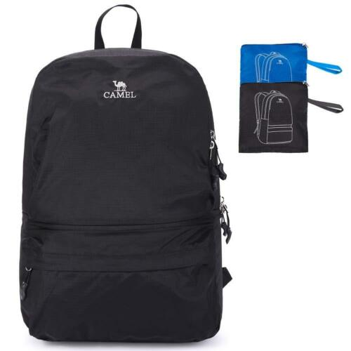 22L CAMEL CROWN Hiking Camping Backpack Waterproof Daypack Outdoor Rucksack Bag