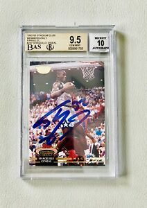 92-93-Topps-Stadium-Club-Members-Only-Shaquille-O-039-Neal-Auto-Autograph-GEM-Mint