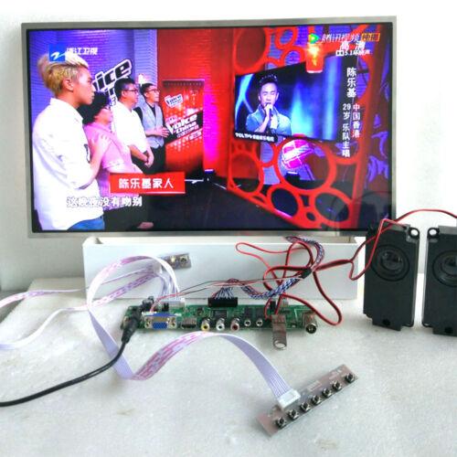 HDMI+IR TV+USB+VGA+AV driver board KIT f lcd LP173WD1-TL C1 B173RW01 V.0 V4 V5