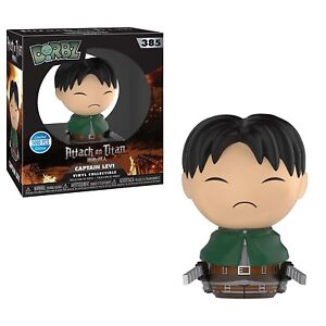 Funko-Attack-On-Titan-Limited-Edition-Dorbz-Captain-Levi-Vinyl-Figure-NEW-Toy