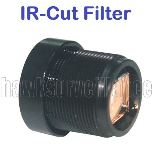 """16mm F1.8 Boarb lens 1//3/"""" Monofocal 17° Degrees M12* IR Cut Filter for FPV"""