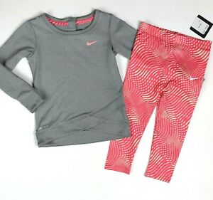 nike 2 piece legging set