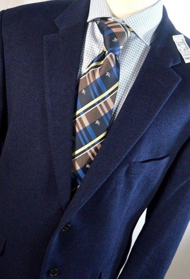 NWT  Jos A Bank Men Sz  48 Wool Silk 2 Button Duel Vents Sport Coat Blazer
