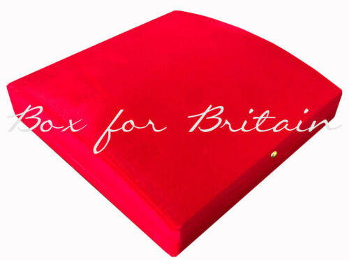 Red Velvet Flock Necklace  Full Set Box Wholesale Price £7.99