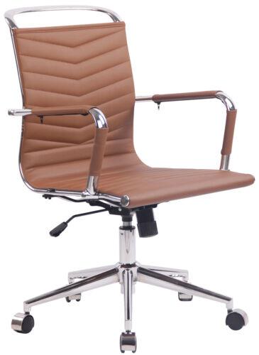 Bürostuhl Burnley Kunstleder Bürosessel Lehnstuhl Schreibtischstuhl Drehstuhl