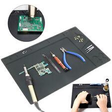 33x21cm Heat Insulation Silicone Pad Desk Mat For Bga Soldering Station Repair
