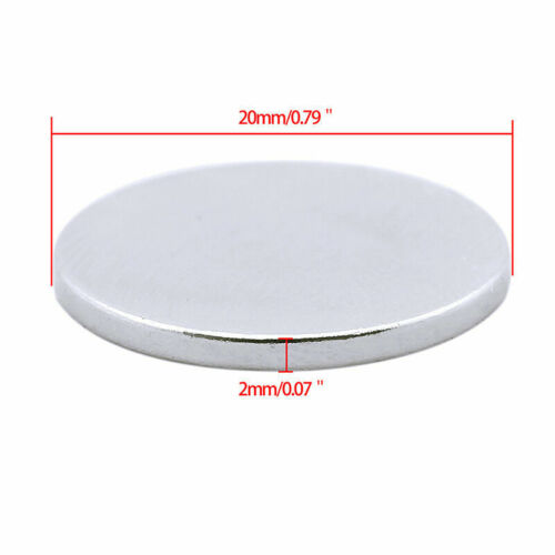 N50 Cylinder Magnet Disc Permanent NdFeB Round Powerful Strong Magnets gyFWD4h